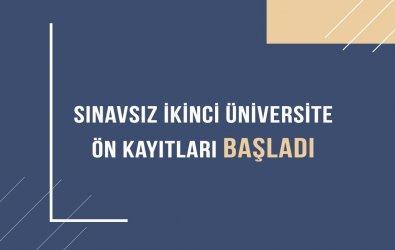 2020 - 2021 Atatürk Üniversitesi Sınavsız İkinci Üniversite (AOF) Kayıt İşlemleri